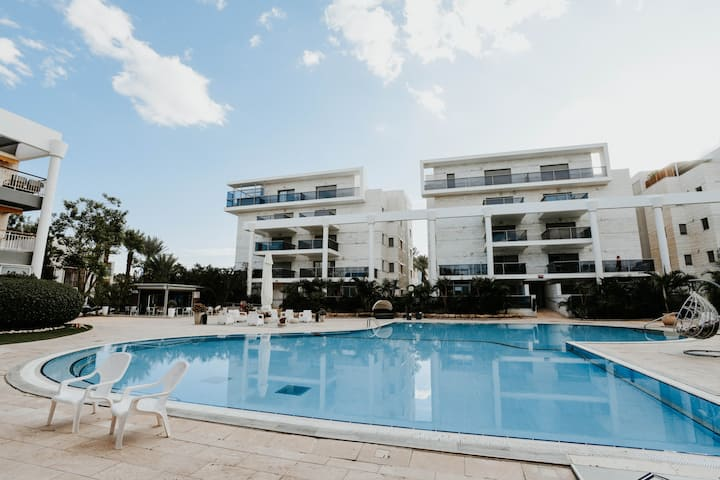 ROYAL PARK RESIDENCE - 2BDR - HOTELS AREA - SWIMMING POOL PARKING