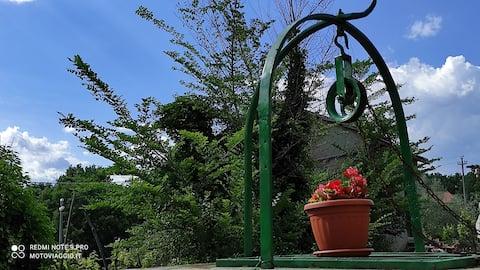Casa vacanze Marrone i Arpino, nedsænket i natu