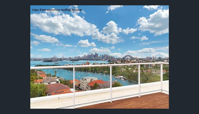 MOSMAN VIEWS 2 BED 1 BATH PARKING W - Mosman - Apartment