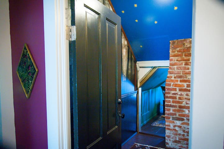 Entrance to Narnia room