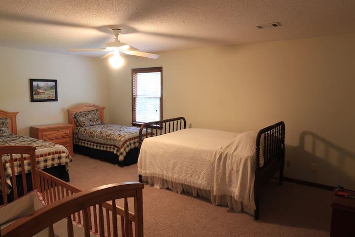 Top floor kids bedroom
