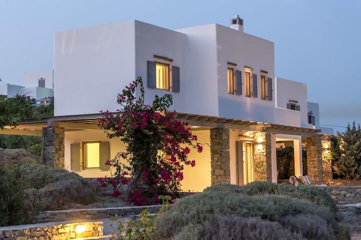 Paros luxury villa open year round