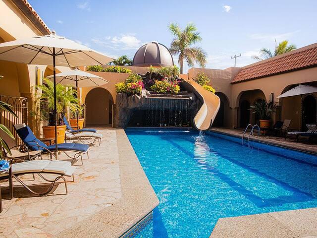 Mazatlan El Delfin Oceanfront Estate