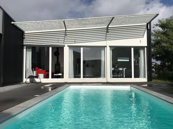 Villa  avc Piscine, Spa  Etables/Mer proche plages
