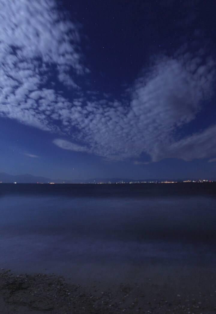 Full moon Seascape