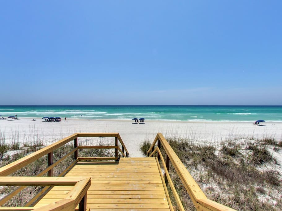 Your very own Private Beach Access