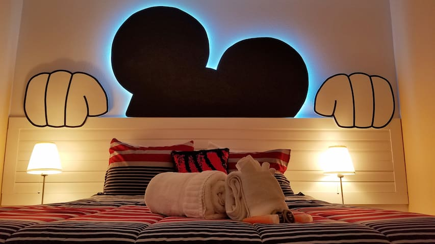 Beautiful Mickey Room for your Disney vacation. - Kissimmee - Huis