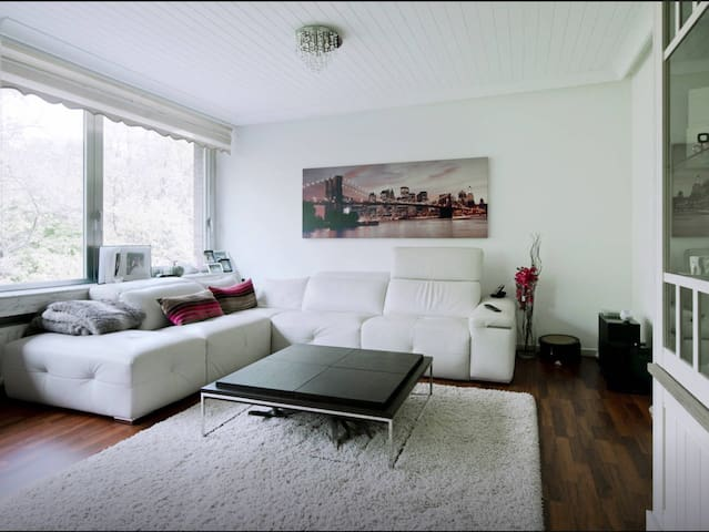 Relaxing apartment with great view near citycentre - Antwerpia - Apartament