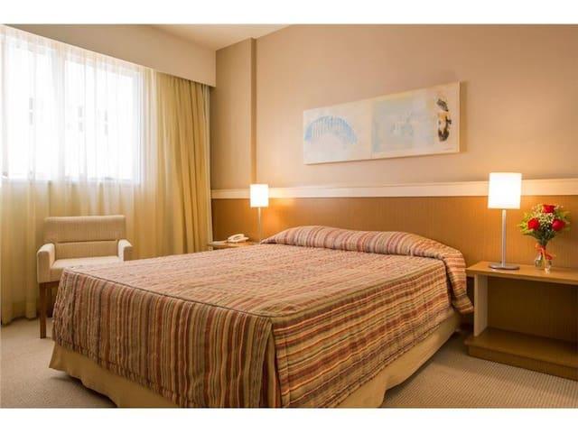 Astron Hotel Bauru - Standard - Cama Casal