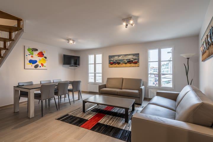 Grand appartement refait à neuf Saint-Martin-de-Ré
