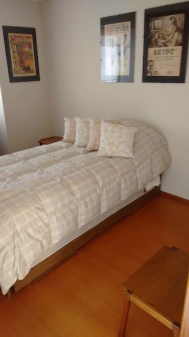 Habitación (c/cama 1 plaza). Bedroom (w/single bed).