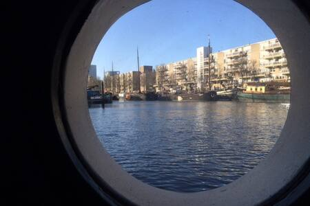 New: renovated ship, Rotterdam centre, Oude Haven - Rotterdam - Wohnung