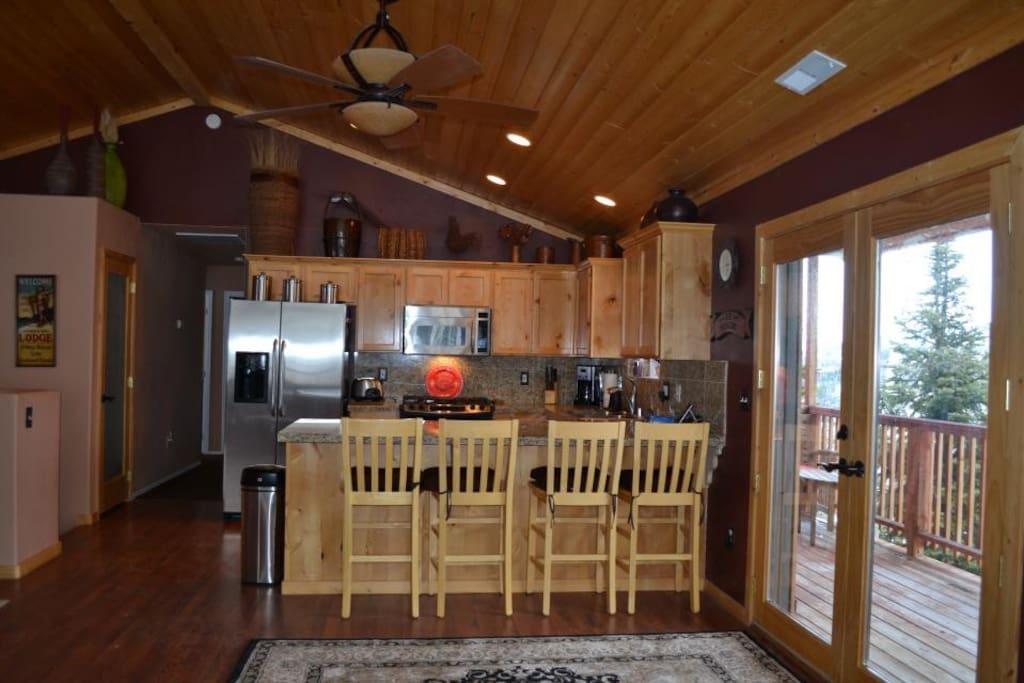Luxurious brian head ski resort cabin chalet in affitto for Cabin rentals vicino a brian head utah