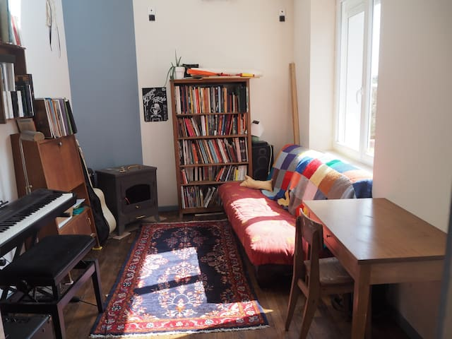 familial house 5 minutes from the train station - Lorient - Hus