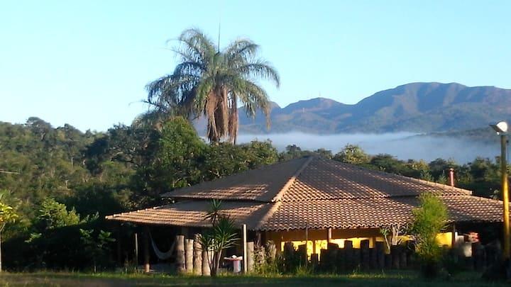 Casa/Sítio Local Tranquilo/Natureza com piscina