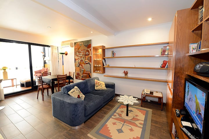 Cozy flat, fully equipped, in Belgrano, nice area