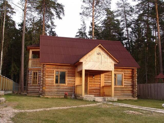 Дом в лесу_Новорижское шоссе, 12 км от МКАД
