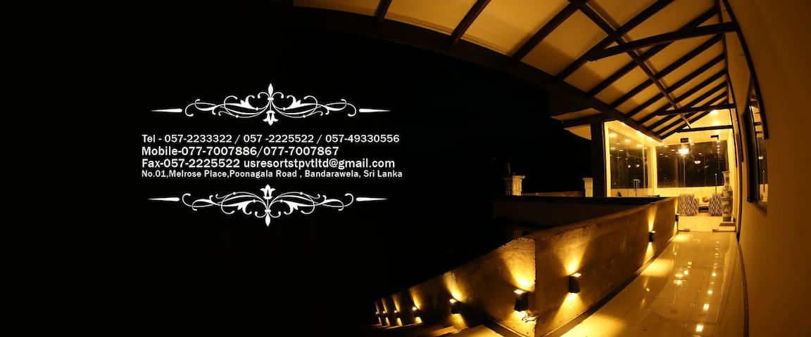 US HOLIDAY RESORT - Bandarawela - Casa de hóspedes