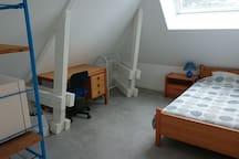 Chambre meublée 1 chez l'habitant proche Blois