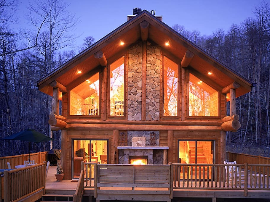 Watershed 01 Cabins For Rent In Bryson City North