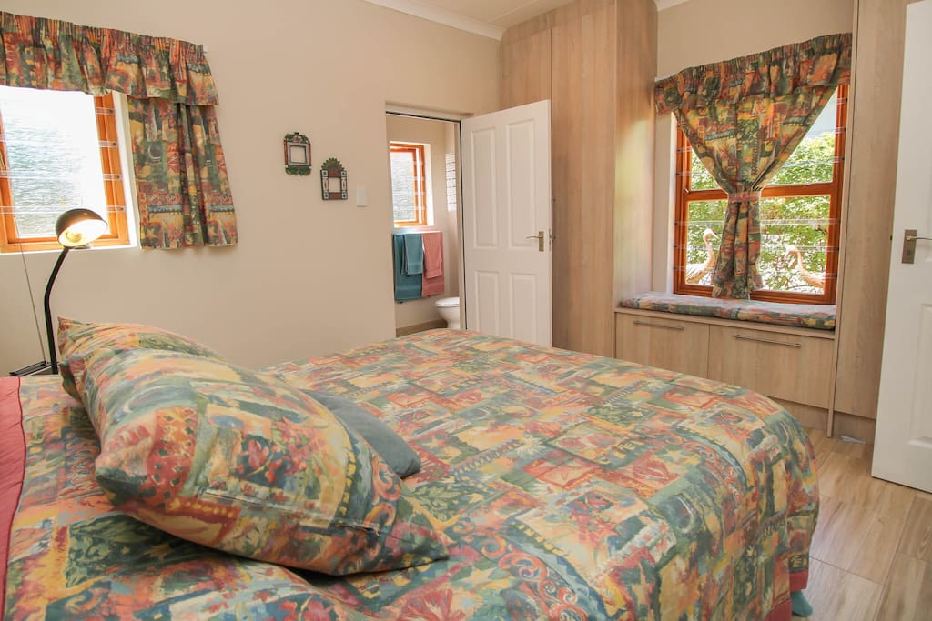 Bedroom with en-suite bathroom.