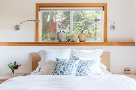 Explore Bainbridge Island from a Peaceful Garden Guest Suite