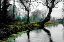 Ο Μέλανας Ποταμός στις πηγές των τριών Χαρίτων.