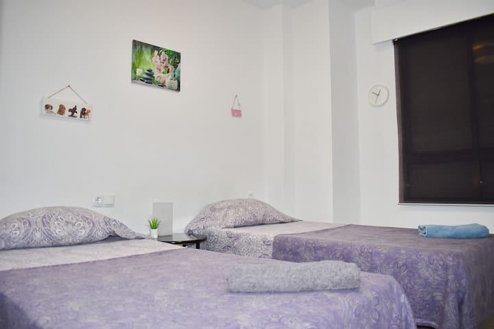 Nice Room near Alacant terminal at Centro 2 beds