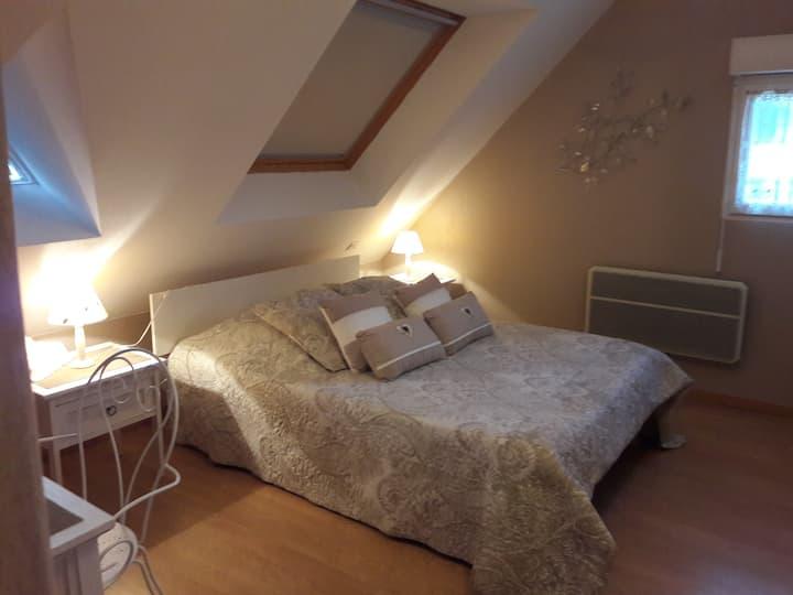 "Chambre d'hôte ""Champêtre"" Villa vue Mer"