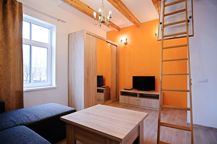 Self Check-in 2-level Apartment w Free Parking  #5