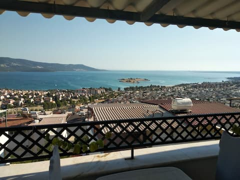 Muhteşem manzaralı villa/ Wonderful view villa