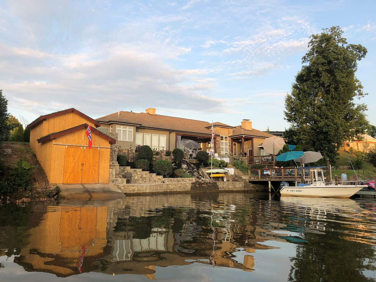 The Main House and dock