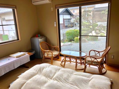 Relax Quiet Traditional Room near Fukuoka airport
