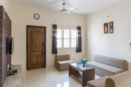 Sampada HomeStay - A full fledged 2BHK Apartment - Bengaluru