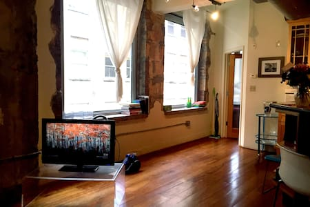 Private room available in beautiful downtown loft - Houston