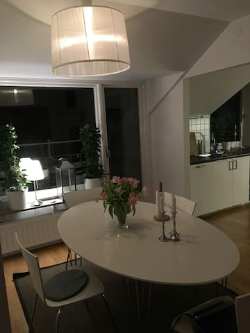 Lovely appartment 2 min from central station - Ängelholm - Apartament