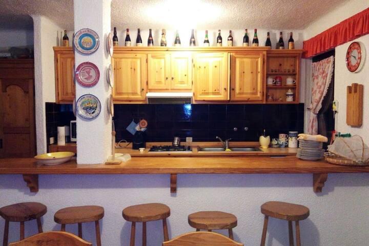Appartamento per famiglie a Montecampione 1200
