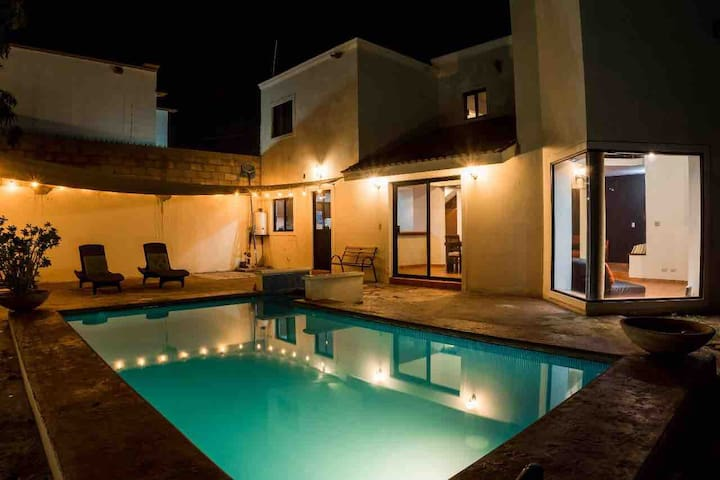 BIG Home with POOL & GAMES, for Parties & Family