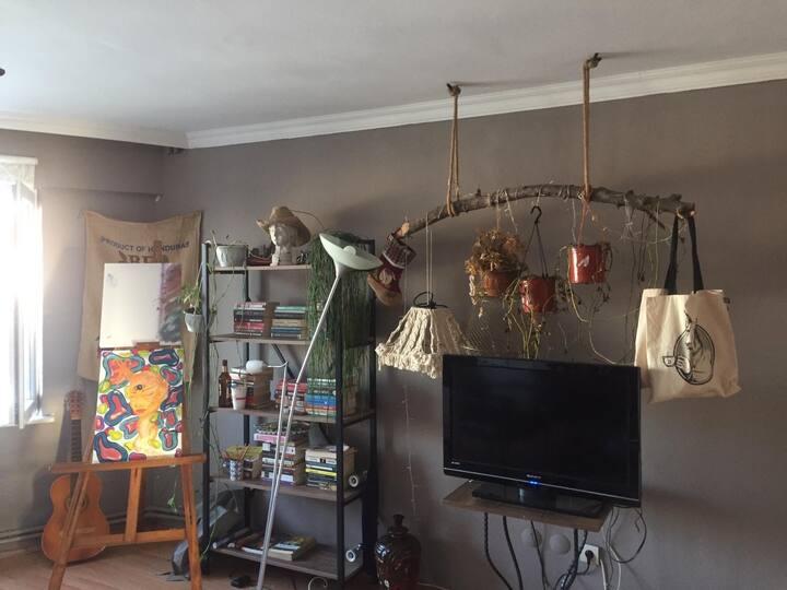 Kadıköy Moda'da tatlı bir oda