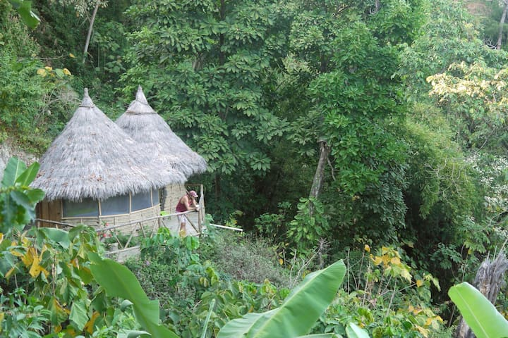 Indigenous Hut with private bathroom