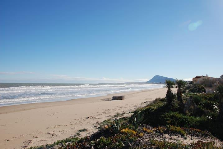 Casa Pilar. El lujo de estar a pie de playa - Dénia - Townhouse