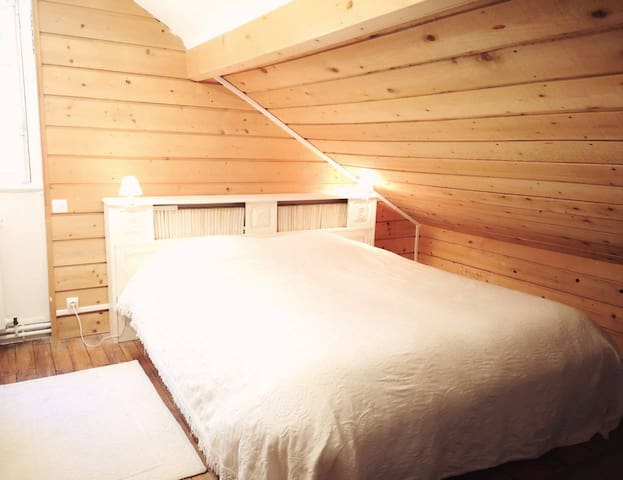 Deuxième chambre avec lit double