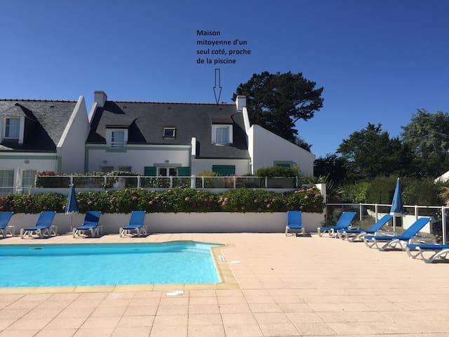 Maison de vacances de 56 m2 avec piscine chauffée