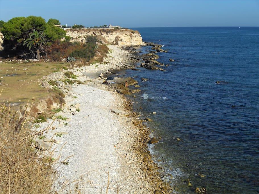 la costa lato Trani