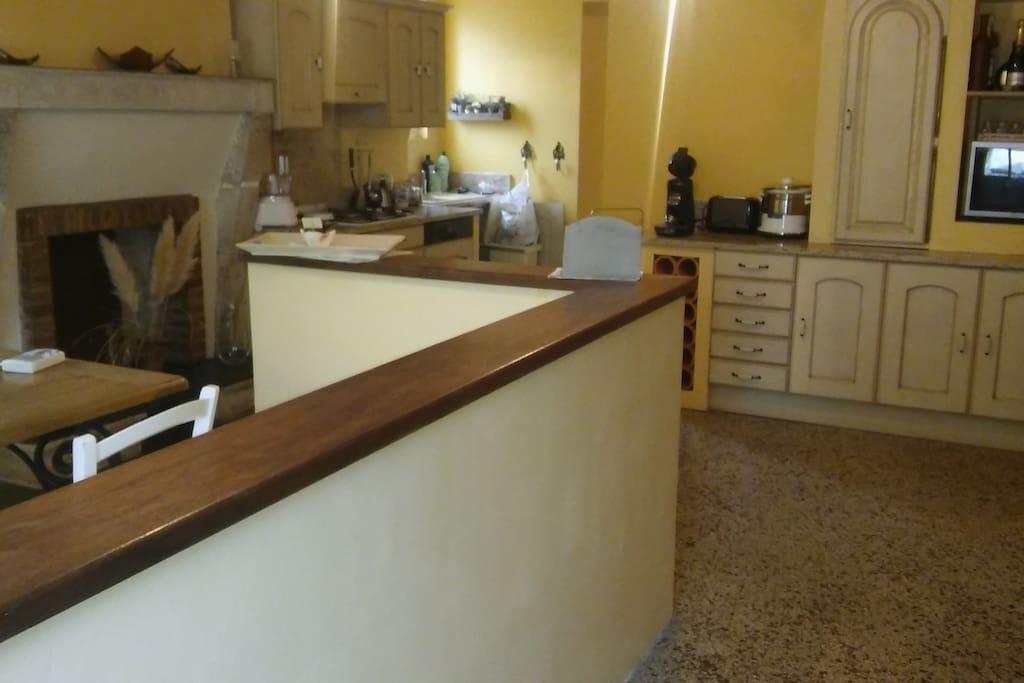 cuisine + salle à manger