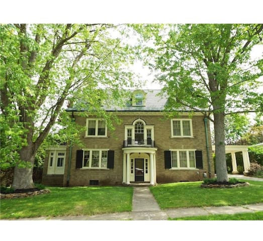 4 bd enchanted homein the heart of Olean, NY.