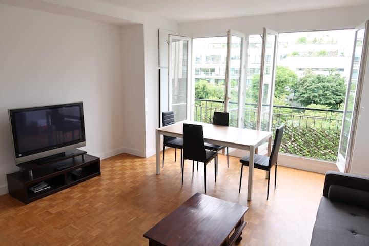 Appartement 3 pièces - Spacieux, calme & lumineux
