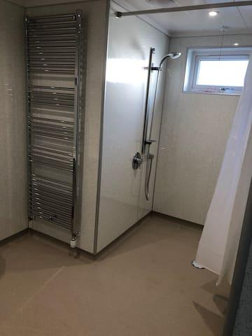 Accessible shower room, Bracken.