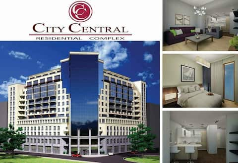 City Central Apartment \Green Room\