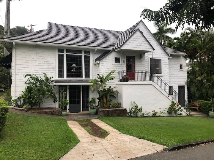 Charming Manoa house recently remodeled